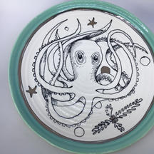 Octopus Side Plate $28
