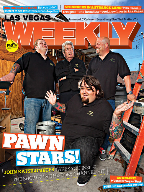 Pawn Stars Cast - Las Vegas Weekly Cover