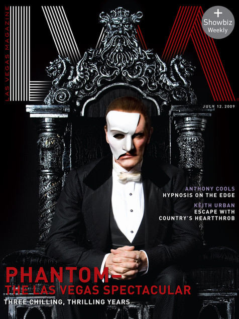 Phantom - Las Vegas Magazine Cover