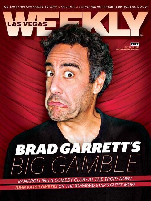 Brad Garrett - Las Vegas Weekly Cover