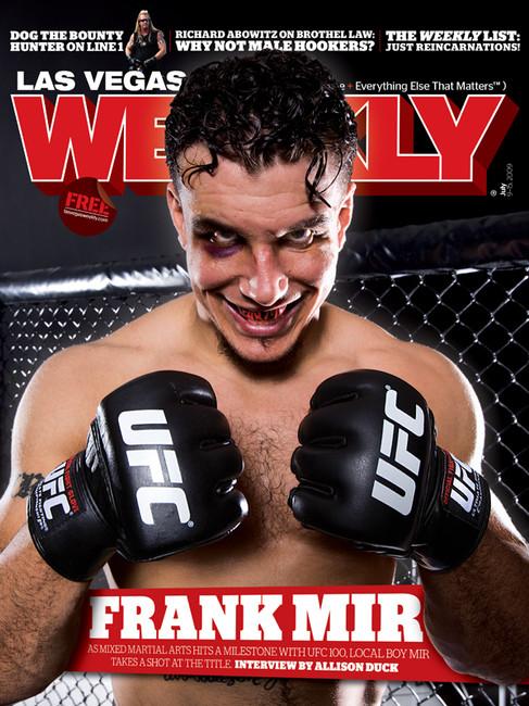 Frank Mir - Las Vegas Weekly Cover