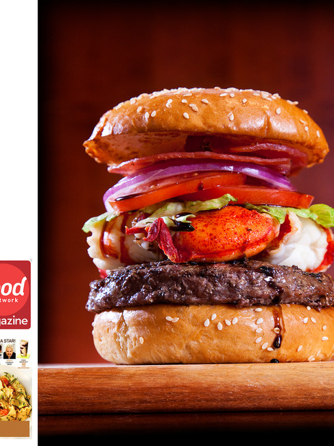 777 Burger at Le Burger Brasserie - Food Network Magazine