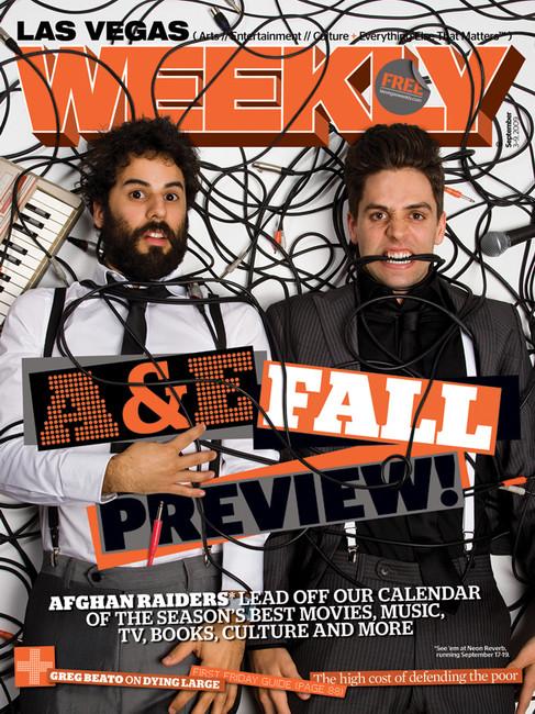 Arts & Entertainment - Las Vegas Weekly Cover