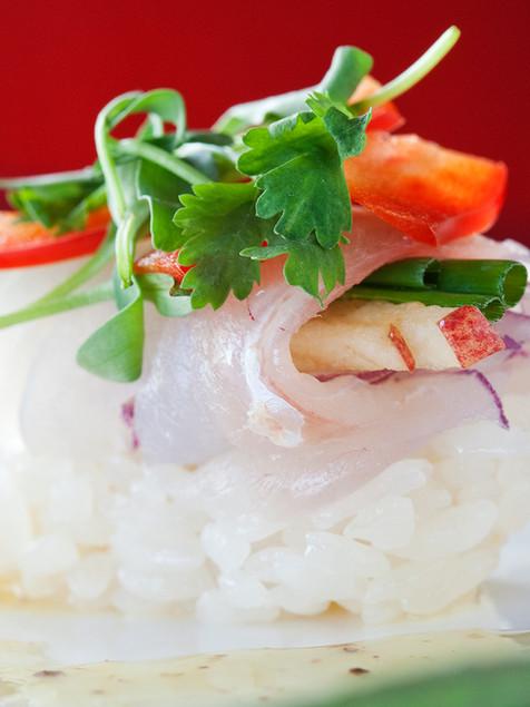 Snapper Sushi Roll - Sen of Japan