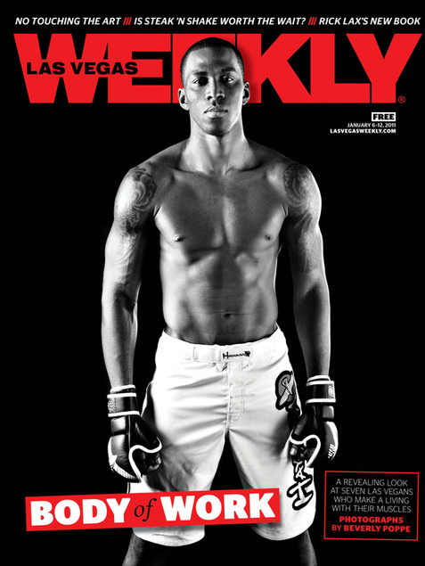Body of Work Issue - Las Vegas Weekly Cover