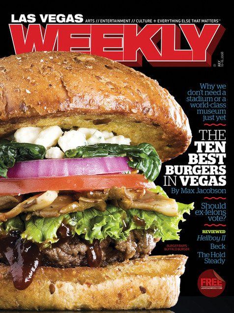 Best Burger Issue - Las Vegas Weekly Cover