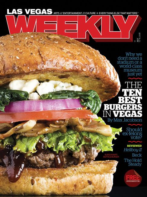 Best Burger Issue - Las Vegas Weekly Cover