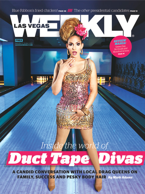 Drag Bowling - Las Vegas Weekly Cover