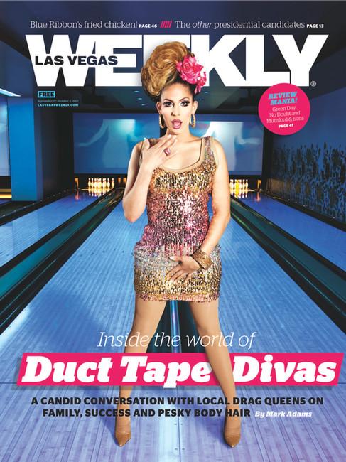 Drag Bowling - Las Vegas Weekly Cover