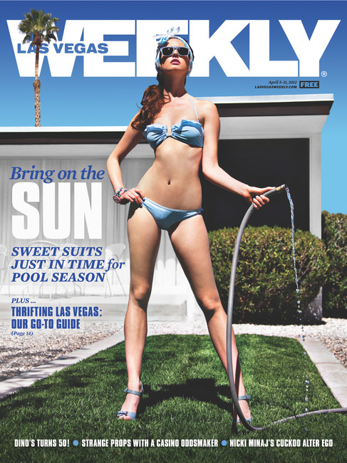 Swimsuit Issue - Las Vegas Weekly Cover