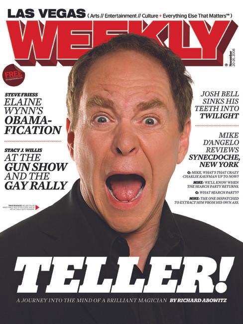 Teller - Las Vegas Weekly Cover