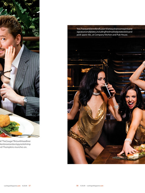 Dinner and Show Feature - Las Vegas Magazine