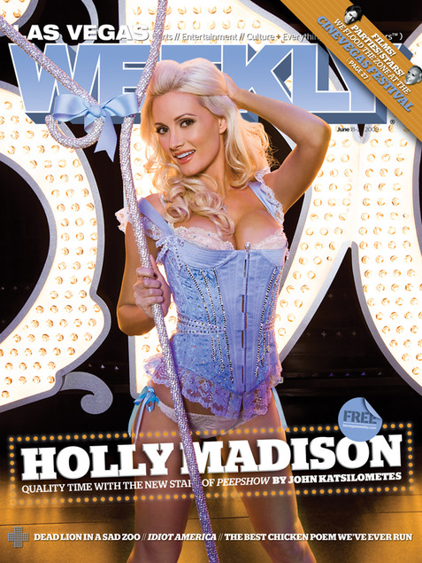 Holly Madison - Las Vegas Weekly Cover
