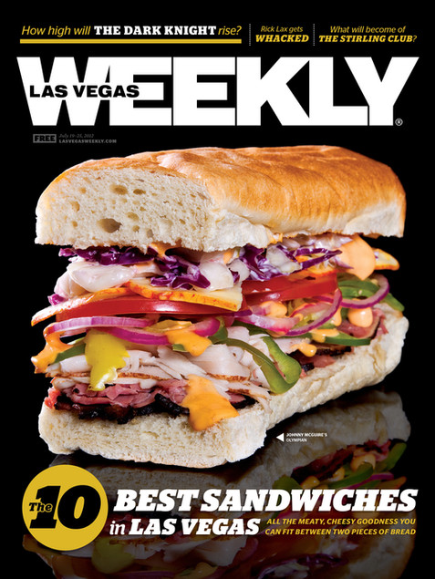 10 Best Sandwiches - Las Vegas Weekly Cover