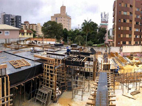 Edifício Guará entra em fase de execução da supraestrutura em concreto armado