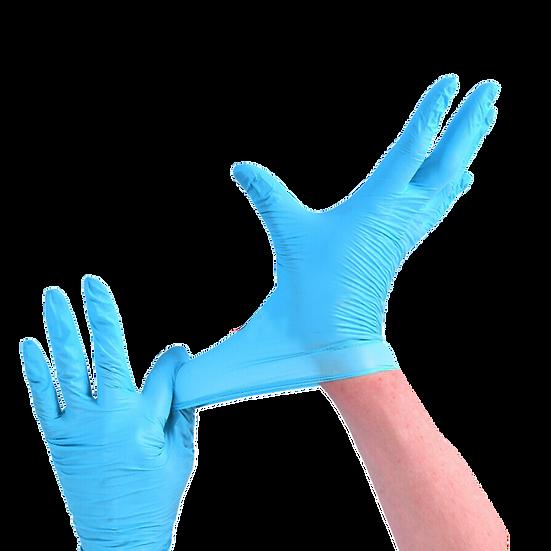 Disposable Nitrile Gloves, Size Medium (box of 100)