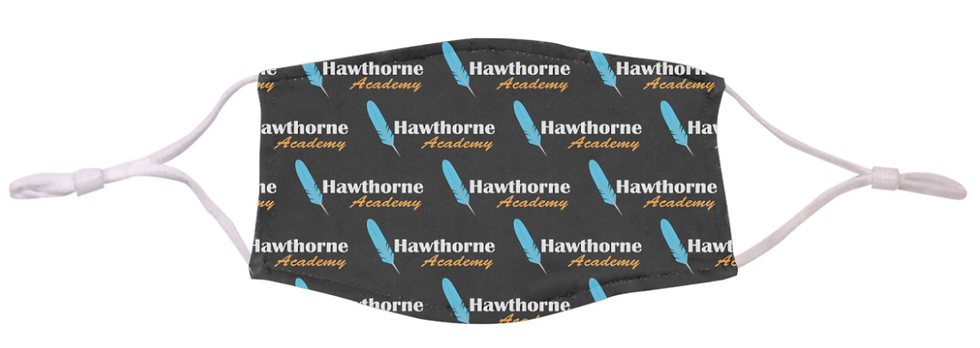 2-Ply Dye-Sublimated Branded Face Mask