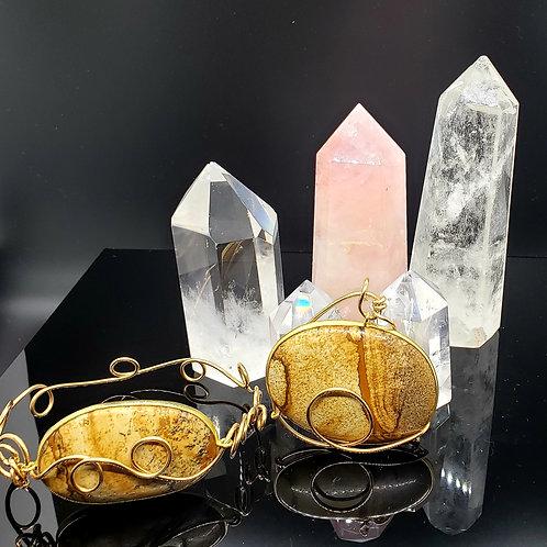 pendant and bracelet set