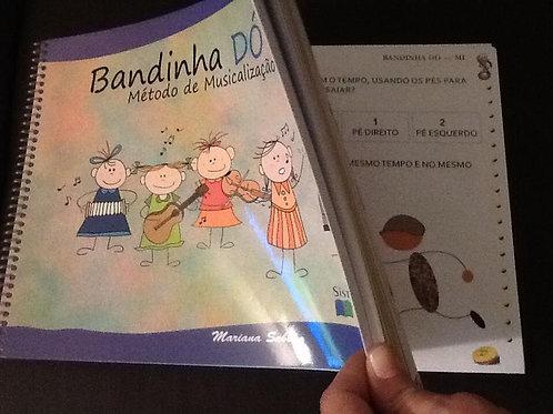Bandinha Dó Ré Mi-Método de Musicalização Infantil
