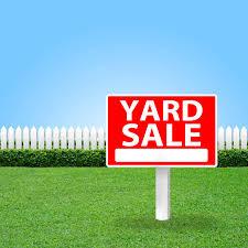 Yard Sale 9/30 - Raising Money for Moose's Fund
