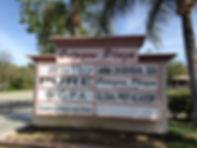 Custom Sign in Santa Clarita