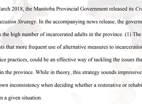 Failing to Put Promises into Practice: Comparing R v Siwicki with the Goals Established by Manitoba'