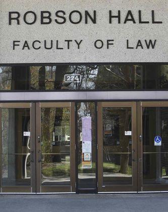 Robson Hall Criminal Law