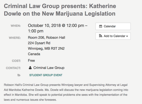 Katherine Dowle to Speak at Criminal Law Group Event on Oct 10 at Noon