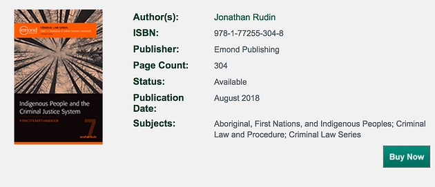 "Book Review of ""Indigenous People and the Criminal Justice"