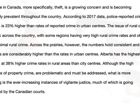 """People are Pulling Guns"" - Vigilante Justice in Rural Canada"