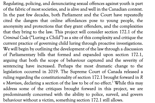 Harm in the Digital Age: Proactive Child Luring Investigations by Menzie & Hepburn