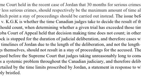 R. v. K.G.K, or Rather, K.G.K v. The Canadian Judiciary
