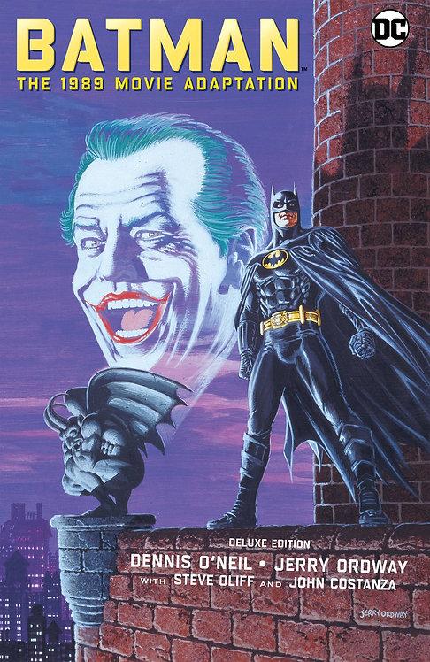 BATMAN THE 1989 MOVIE ADAPTATION HC DELUXE ED