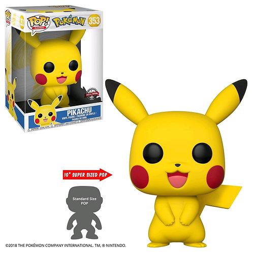 "Pokemon - Pikachu US Exclusive 10"" Pop! Vinyl [RS]"