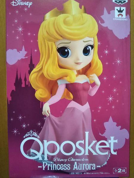 Disney - Pink Princess Aurora Q Posket Figure