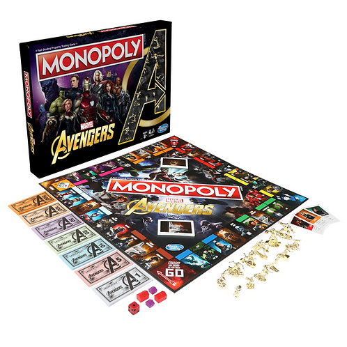 Marvel - Avengers Monopoly Board Game