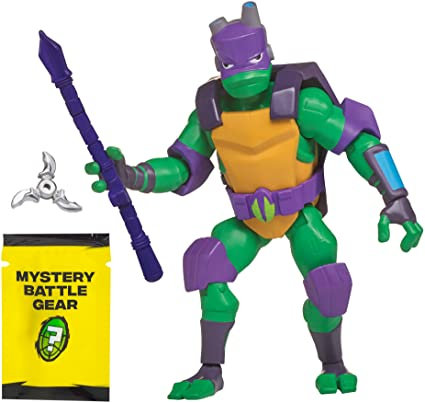 Rise of the Teenage Mutant Ninja Turtles Battle Shell Donatello Action Figure