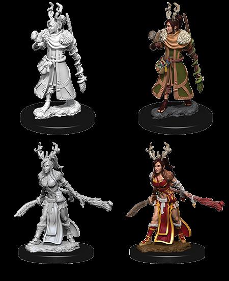 D&D Nolzurs Marvelous Unpainted Miniatures Female Human Druid