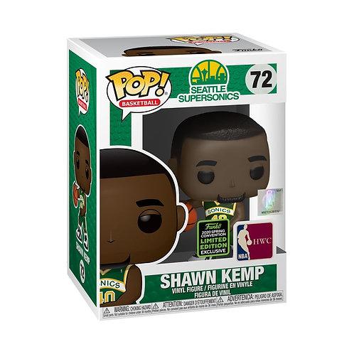 NBA: Sonics - Shawn Kemp ECCC 2020 Exclusive Pop! Vinyl [RS]