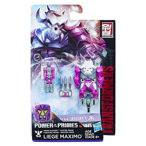 Transformers Power of the Primes Prime Master Liege Maximo