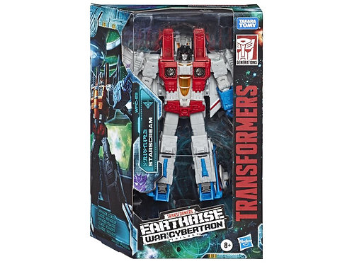 Transformers War for Cybertron: Earthrise Voyager Starscream