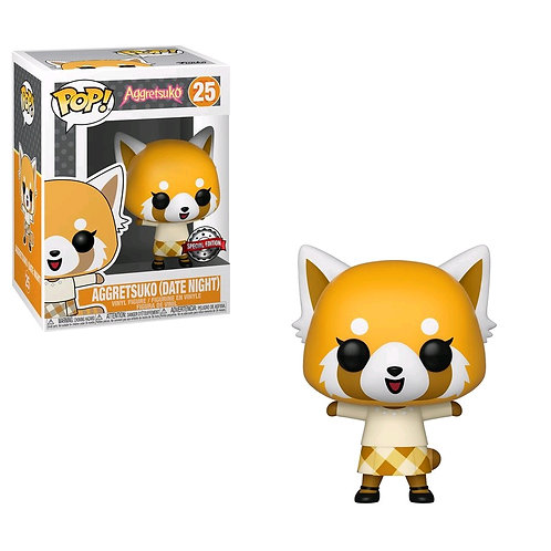 Aggretsuko - Aggretsuko Date Night US Exclusive Pop! Vinyl