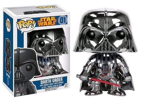 Star Wars - Darth Vader Chrome US Exclusive Pop! Vinyl
