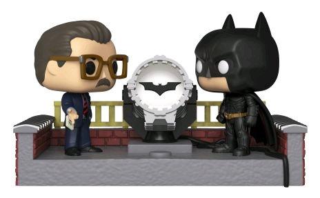Batman - Batman Light Up Bat-Signal 80th Anniversary Movie Moments Pop! Vinyl
