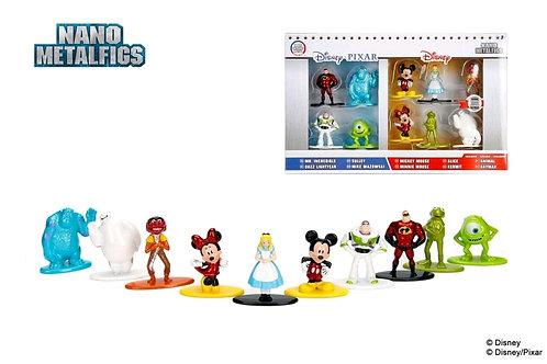 Disney - Nano Metalfigs 10-Pack