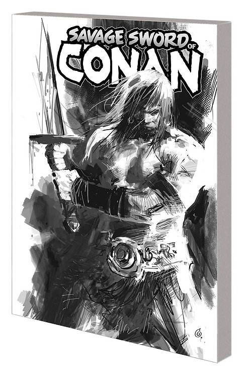 SAVAGE SWORD OF CONAN TP VOL 01 CULT OF KOGA THUN B&W DM VAR