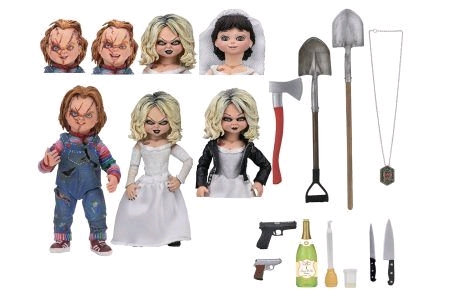 """Child's Play 2: Bride of Chucky - Bride of Chucky 7"""" Scale Action Figure 2-pack"""