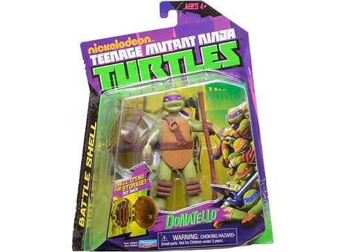 TMNT Battle shell Donatello