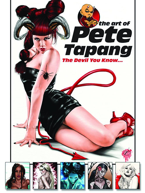 ART OF PETE TAPANG SC VOL 01 DEVIL YOU KNOW