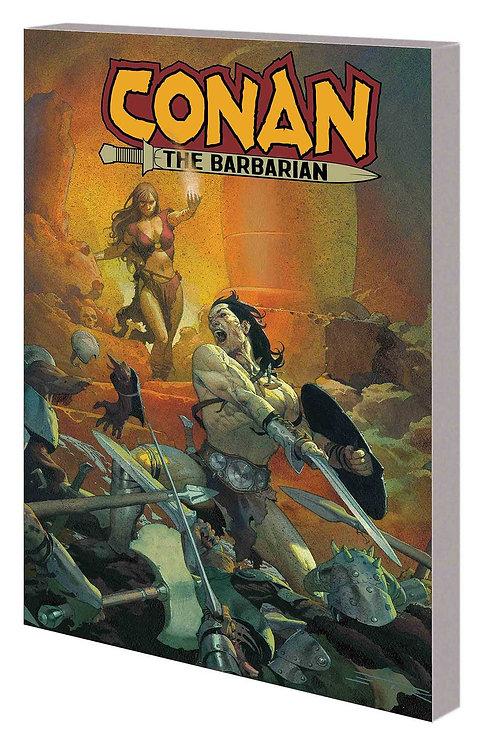 CONAN THE BARBARIAN TP VOL 01 LIFE AND DEATH OF CONAN